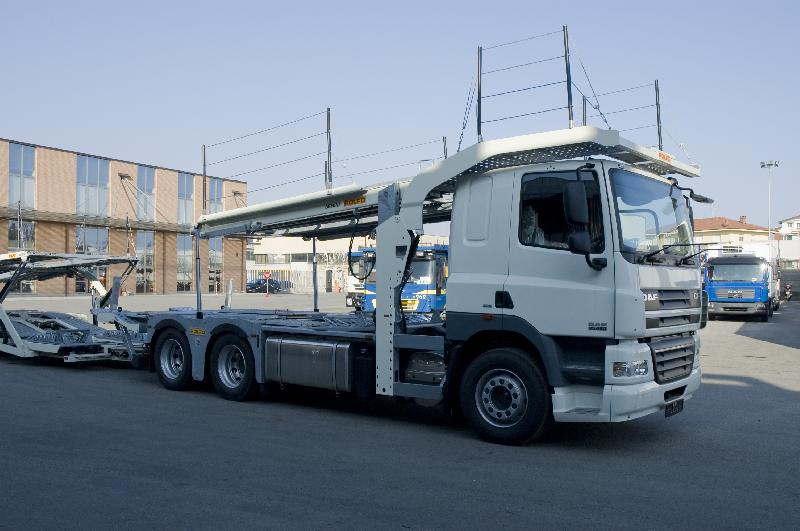 2009 '09' DAF CF85 Wagon and Drag (Euro 5)
