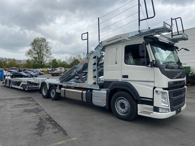 2021 '21' Volvo FM420 Sleeper Cab (AUTO) – Commercial Carrier
