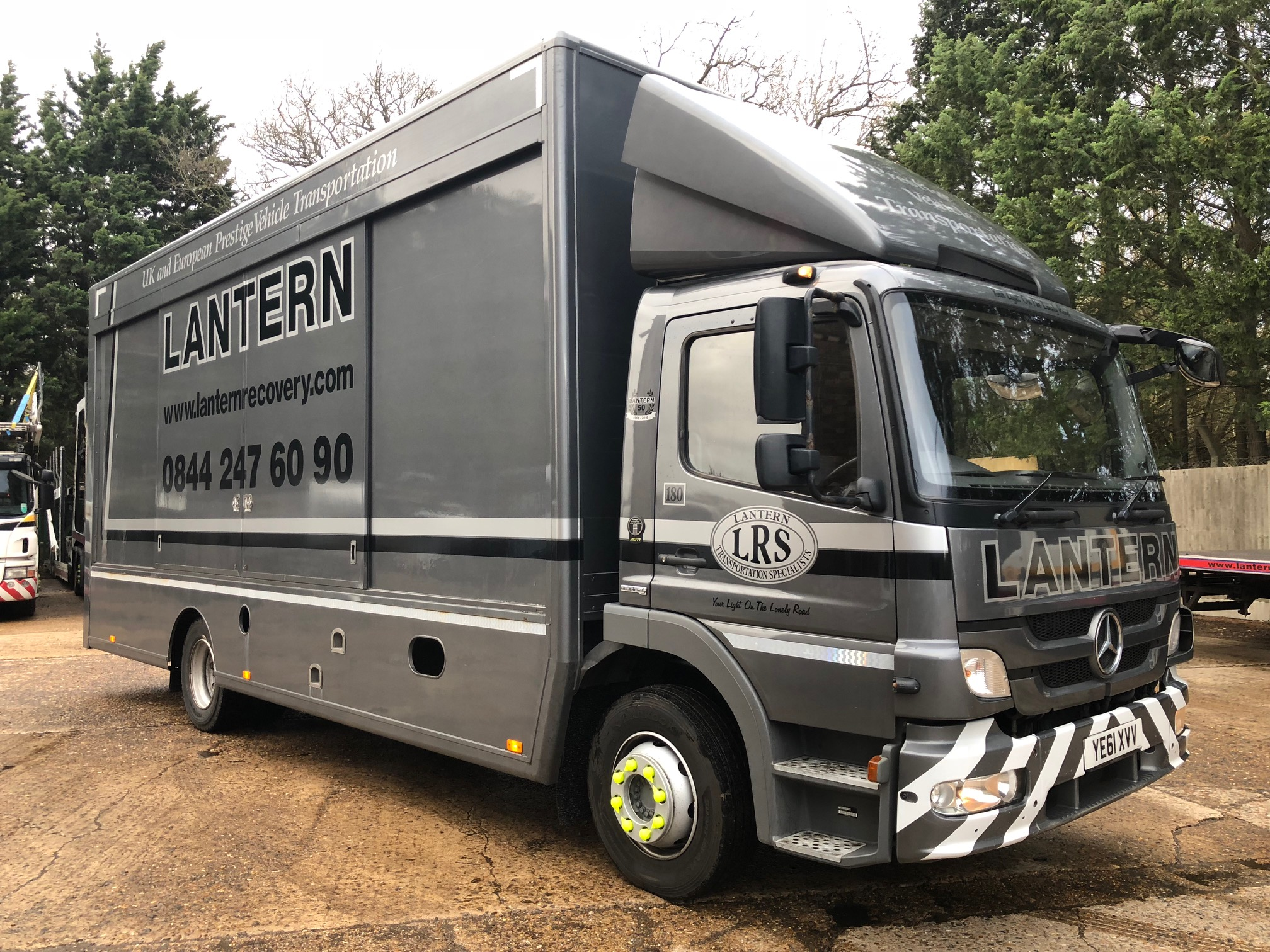 2011 '61' Mercedes Atego 1224 L Cab – Covered Transporter