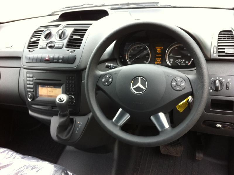 2011 '11' Mercedes Vito 113 CDI Long (AUTO) Euro 5