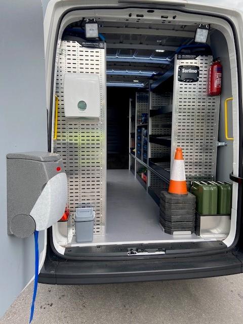 2021 '21' M.A.N 'TGE' 3.140 Service Van (AUTO)