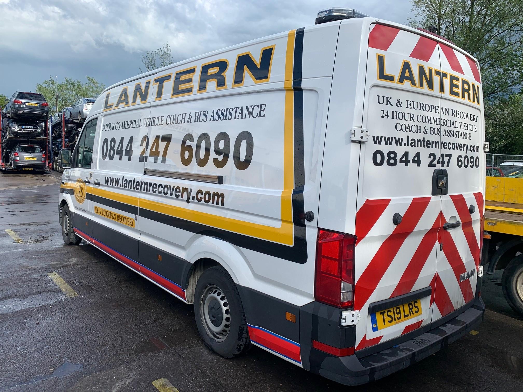 2019 '19' M.A.N 'TGE' 3.140 Service Van (AUTO)