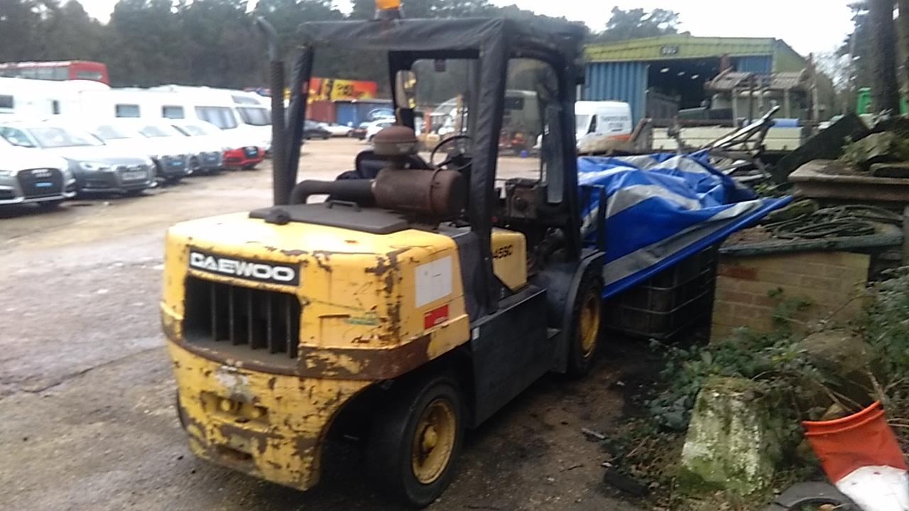 Daewoo D45SC Forklift (4.5 Tonne)