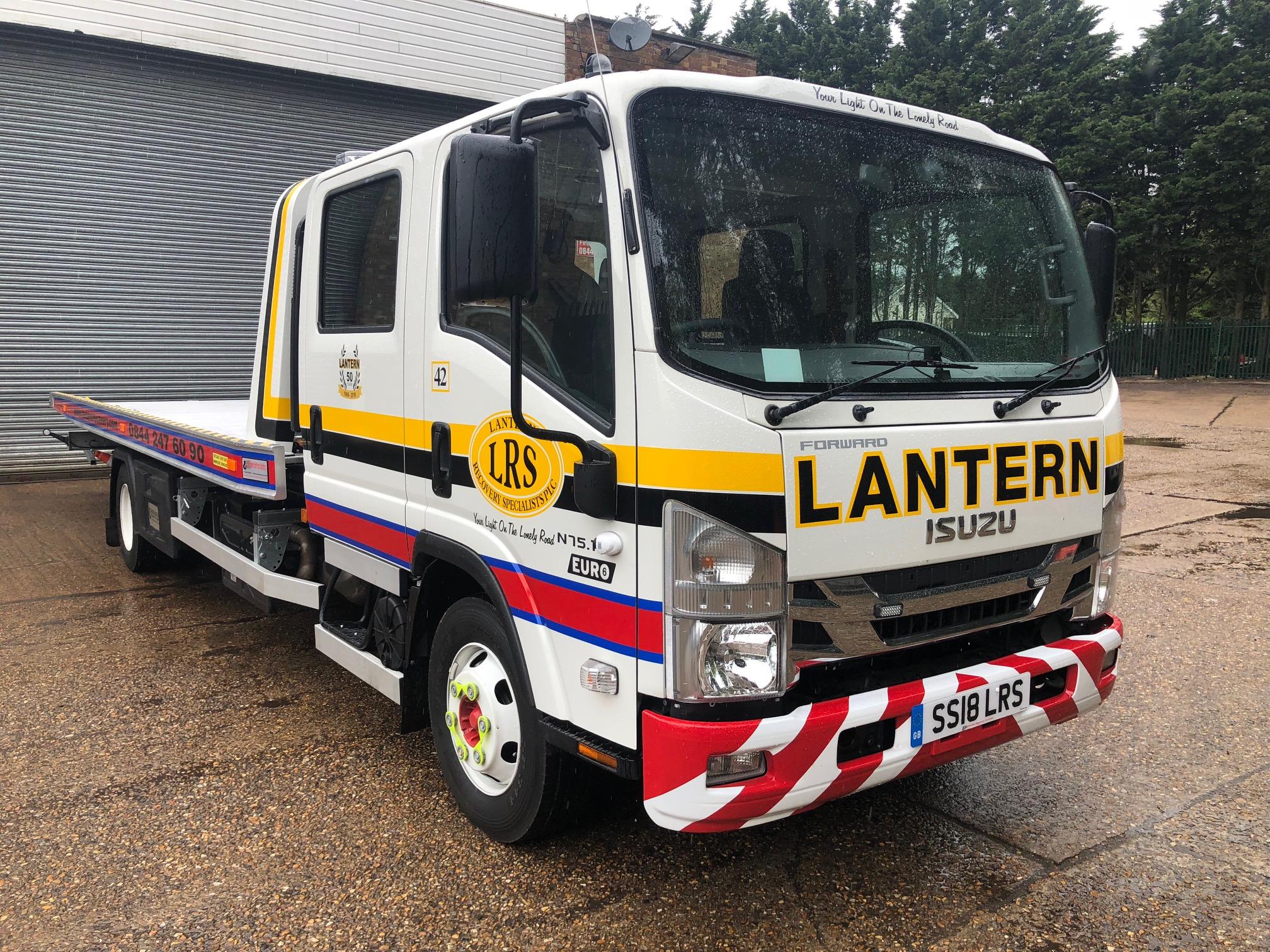 2018 '18' ISUZU N75.190 Manual Crew Cab (Euro 6)
