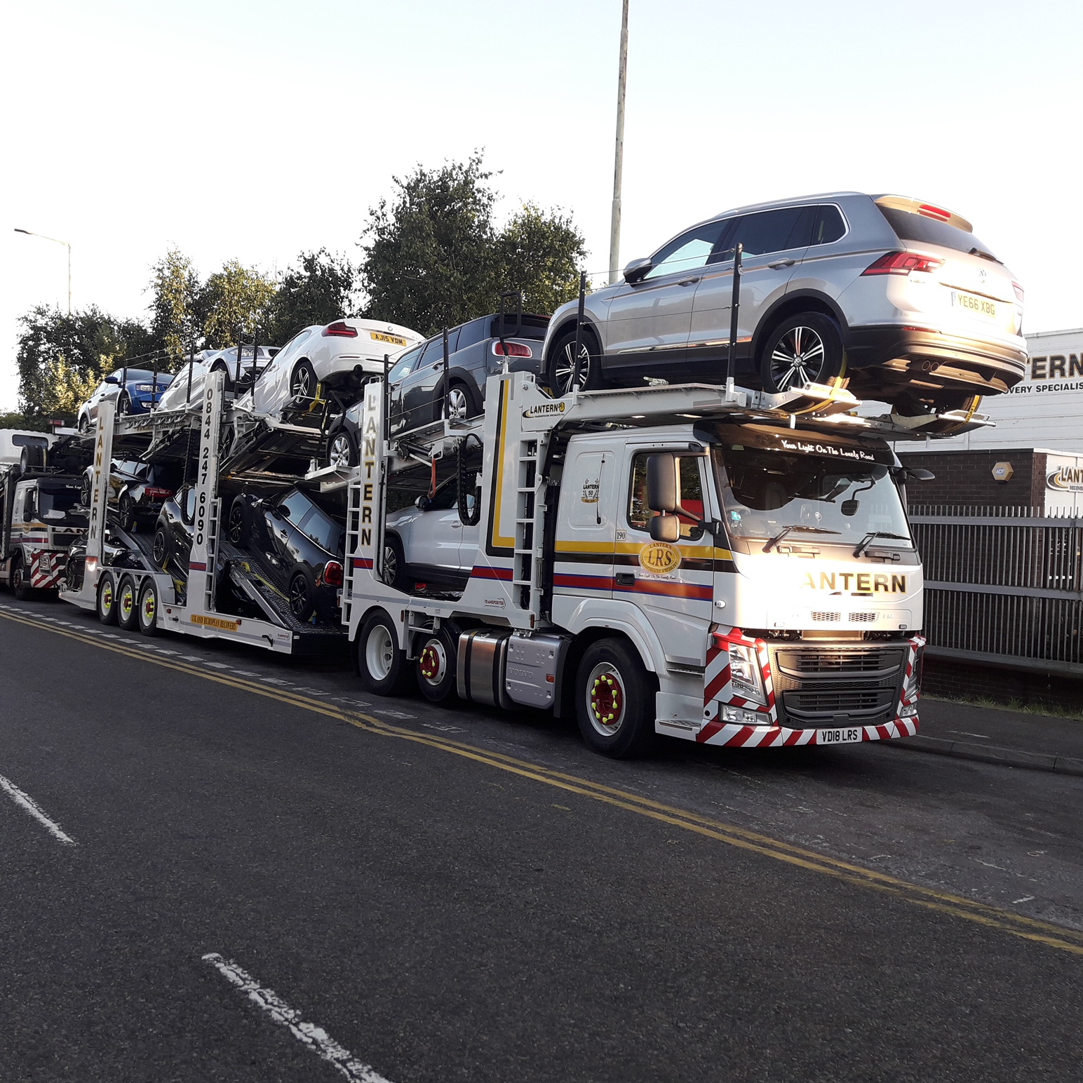2018 '18' Volvo FM420 (Sleeper Cab) 12 Car Transporter