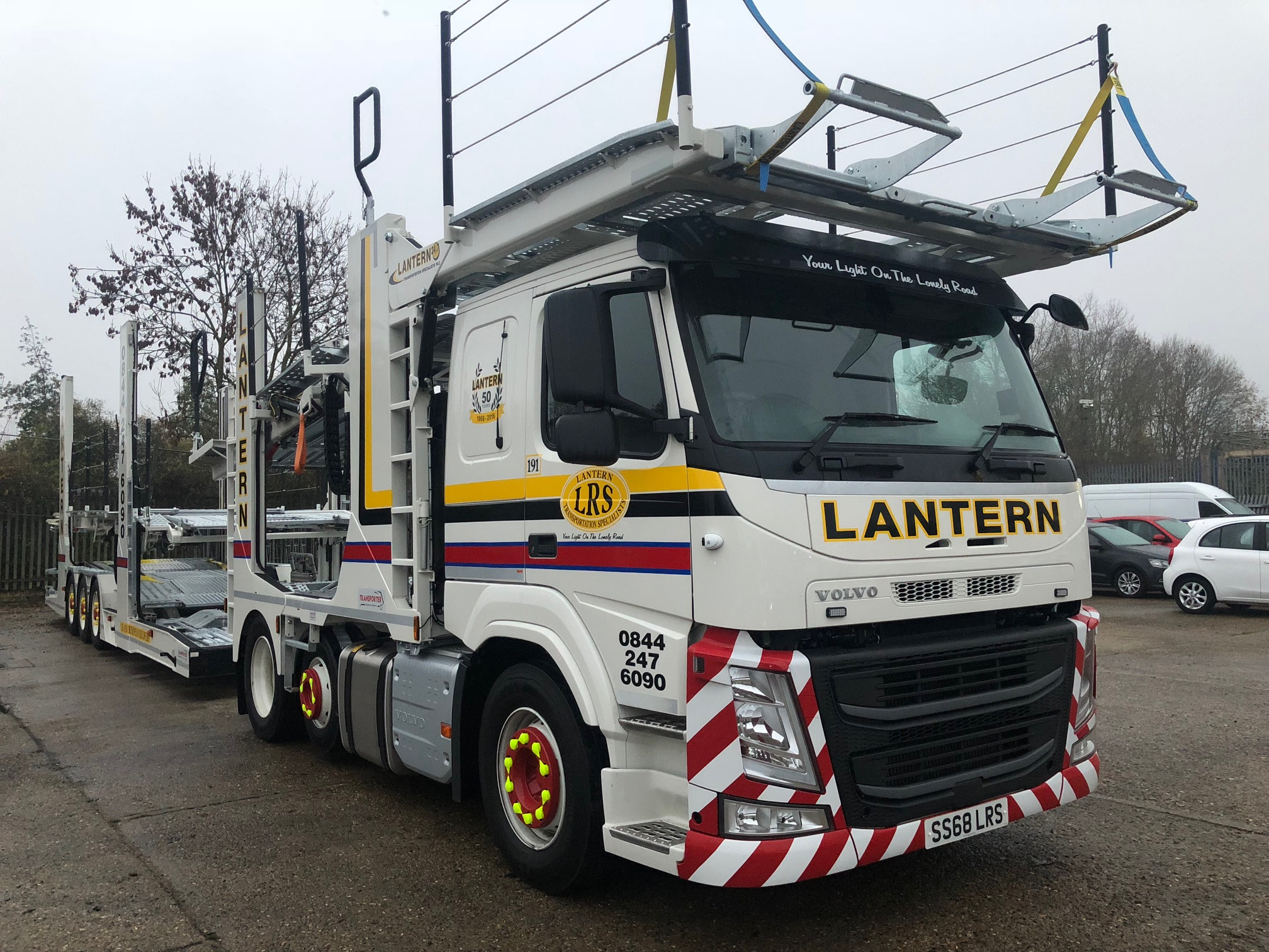 2018 '68' Volvo FM420 (Sleeper Cab) 12 Car Transporter