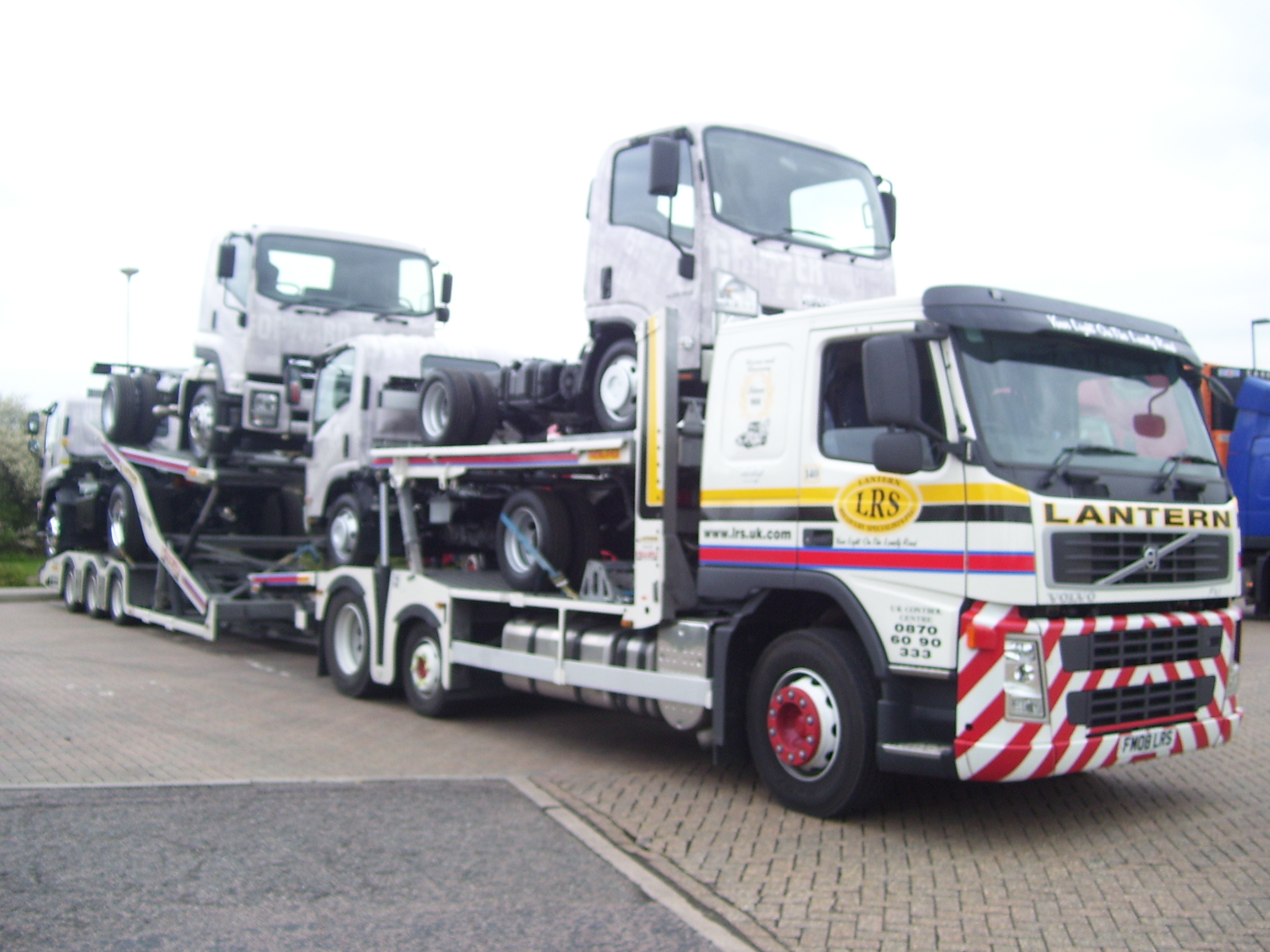 2008 '08' Volvo FM12 (Sleeper Cab) Commercial Multi-carrier