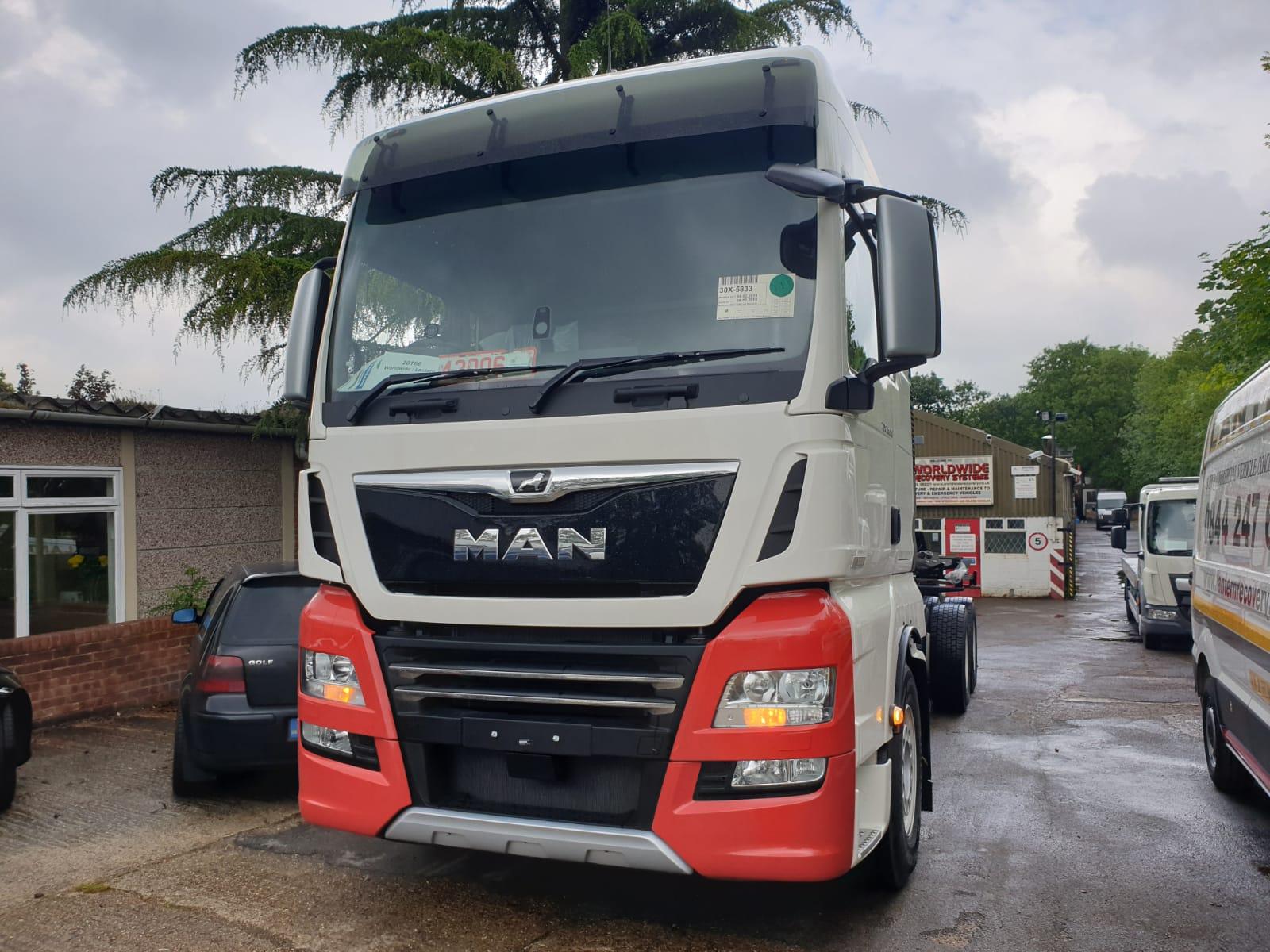 M.A.N TGX XXL 26.580 6×4 (Euro 6d) AUTO